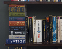 Continue reading A Bookshelf Made From Books