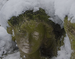 Continue reading Eight Photographs:  Snow on Brompton Cemetery, London